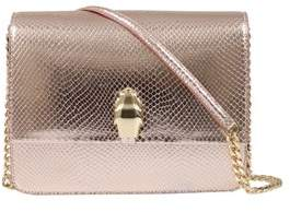 Class Roberto Cavalli Rose Gold Woman Leather Bag.