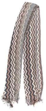 Missoni Knit Open Knit Scarf