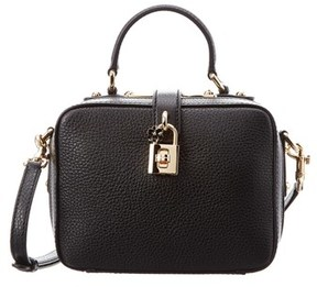 Dolce & Gabbana Leather Top Handle. - BLACK - STYLE