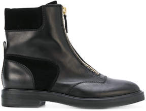 Casadei zip front boots