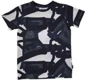 Molo Ravento Short-Sleeve Graffiti Shirt, Size 4-12