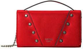 GUESS Kaia Mini Wallet on a String Wallet Handbags