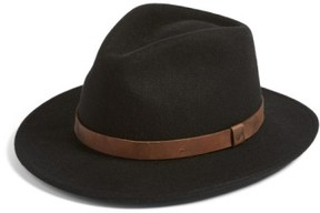Brixton Men's 'Messer Ii' Felted Wool Fedora - Brown