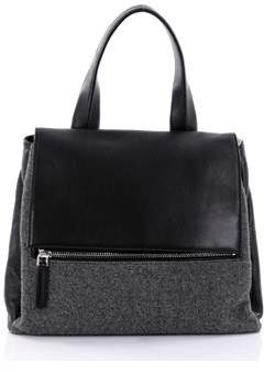 Givenchy Pre-owned: Pandora Pure Satchel Wool With Leather Medium.