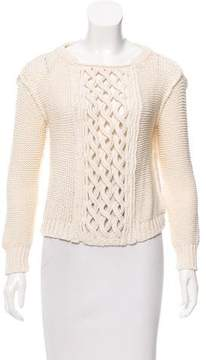 Inhabit Cable Knit Long Sleeve Sweater
