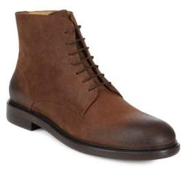 Vince Camuto Leather Chukka Boots