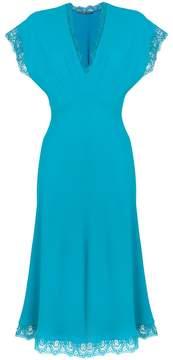 Ermanno Scervino lace trim dress