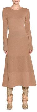 Agnona Long-Sleeve Cashmere Sweaterdress