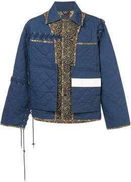 Craig Green quilted panel jacket
