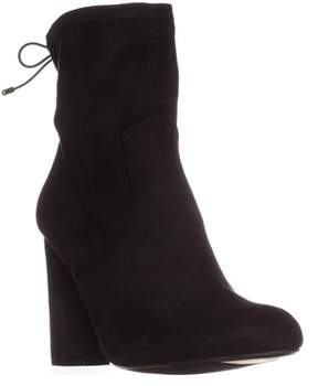 Material Girl Mg35 Mali High Rise Ankle Boots, Black.