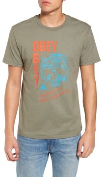 Obey Men's Ghost In The Machine Graphic T-Shirt