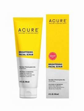 Acure Organics Brightening Facial Scrub Sea Kelp + CGF - 4 oz