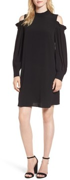 Chelsea28 Women's Cold Shoulder Shift Dress
