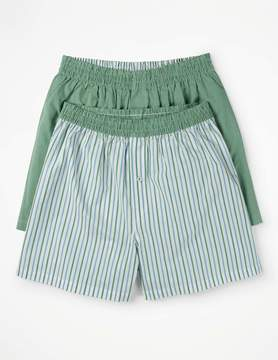 Boden 2 Pack Woven Boxers