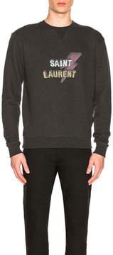 Saint Laurent Lightening Sweatshirt