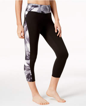Gaiam Om Luxe Printed Capri Leggings