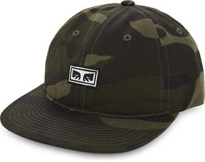 Obey Overthrow cotton snapback cap