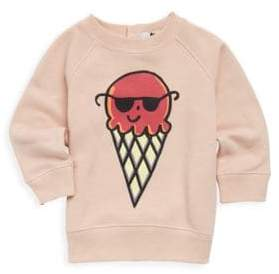 Stella McCartney Baby's Ice Cream Cotton Sweatshirt