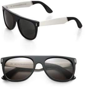 RetroSuperFuture Super by W Flat Top Sunglasses