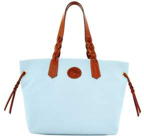 Dooney & Bourke Nylon Shopper Tote - LIGHT BLUE - STYLE