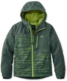 L.L. Bean L.L.Bean Boys' Wildcat Snow Jacket, Stripe