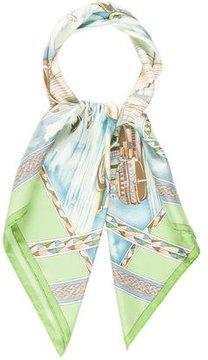 Hermes Frégates Magnifiques Silk Scarf