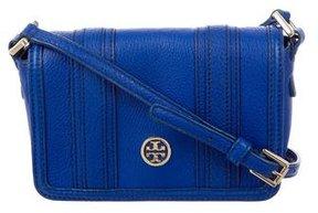 Tory Burch Leather Crossbody Bag - BLUE - STYLE