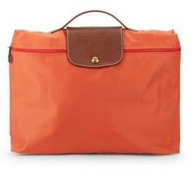 Longchamp Le Pliage Nylon Document Holder - ORANGE - STYLE