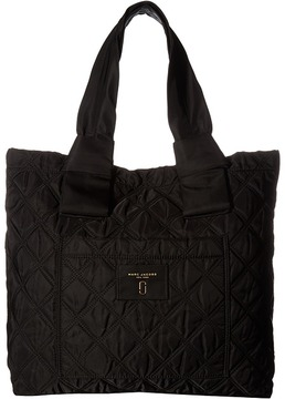 Marc Jacobs Nylon Knot Tote Tote Handbags - BLACK - STYLE