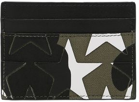 Camustars Leather & Canvas Card Holder
