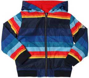 Paul Smith Reversible Nylon & Jersey Jacket
