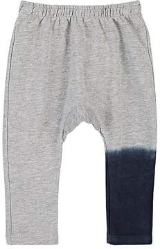 Munster Dip-Dyed Cotton-Blend Terry Sweatpants