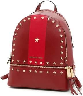 MICHAEL Michael Kors Rhea Stripe Backpack - MLBRY/CRNBRY|ROSSO - STYLE