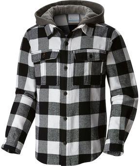 Columbia Boulder Ridge Flannel Hooded Shirt - Long-Sleeve