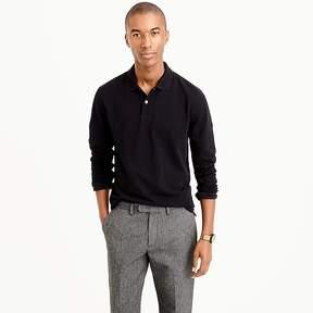 J.Crew Tall long-sleeve classic piqué polo shirt