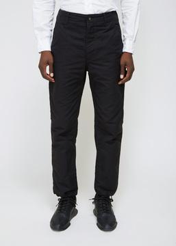 Engineered Garments Black Double Cloth Logger Pant