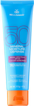 MDSolarSciences Mineral Moisture Defense Body Broad Spectrum SPF 50 UVA-UVB Sunscreen