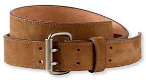 L.L. Bean Signature Double-Prong Belt, Suede