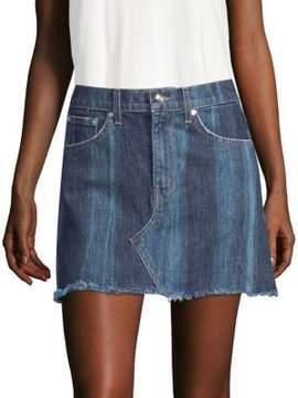 Derek Lam 10 Crosby Cleo Denim Mini Skirt