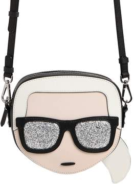 Karl Lagerfeld K/Ikonik Face Crossbody Bag