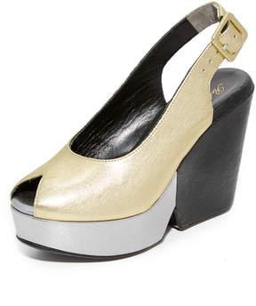 Robert Clergerie Dylanan Block Heel Sandals