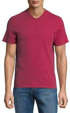 Lord & Taylor V-Neck Cotton Tee
