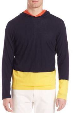 Ralph Lauren Purple Label Double-Tone Sweater