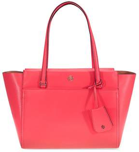 Tory Burch Parker Small Leather Tote - Red Ginger / Cardamom - ONE COLOR - STYLE