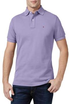 Tommy Hilfiger Mens Custom Fit Short Sleeve Polo Shirt