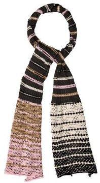 M Missoni Striped Knit Scarf