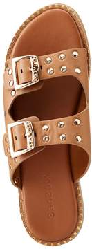 Charlotte Russe Bamboo Double Buckle Slide Sandals