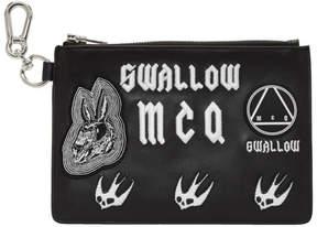 McQ Black Multi Patch Pouch