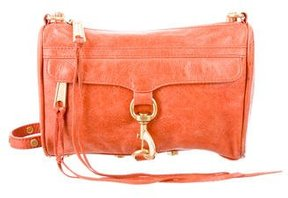 Rebecca Minkoff Mini M.A.C. Crossbody Bag - ORANGE - STYLE