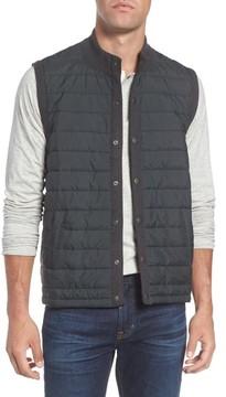 Barbour Men's 'Essential' Tailored Fit Mixed Media Vest